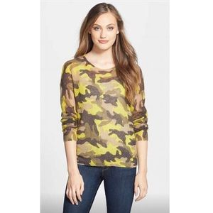 Michael Kors Camouflage Sweater XS S NWT